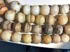 Ancient Banded Agate or Chalcedony Beads