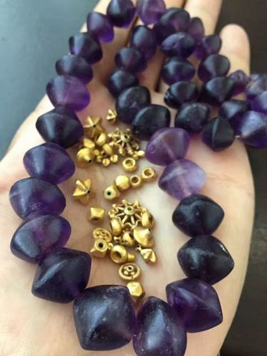 ancinet amethyst beads