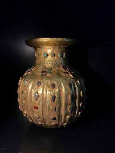 Ancient gold bowl