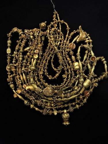 Ancient Pyu Gold Beads