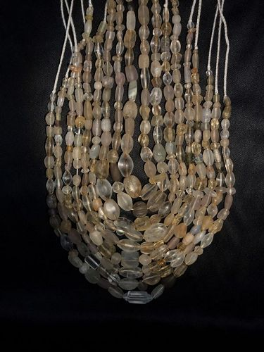 ancient crystal beads