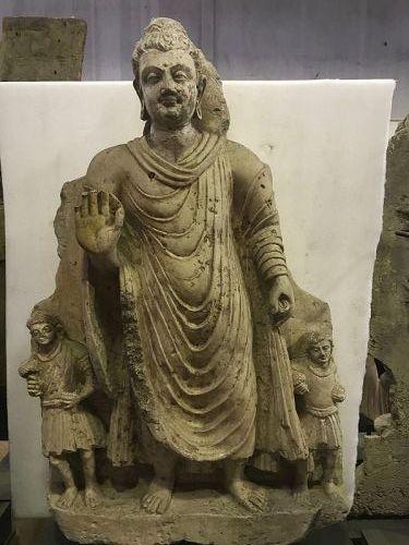 Stucco Gandhara Buddha