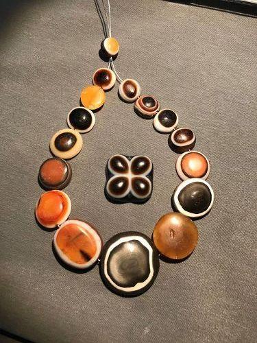 ancient lukmik beads