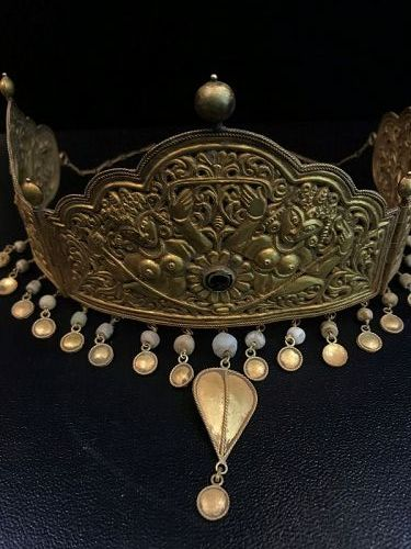 ancient gold crown