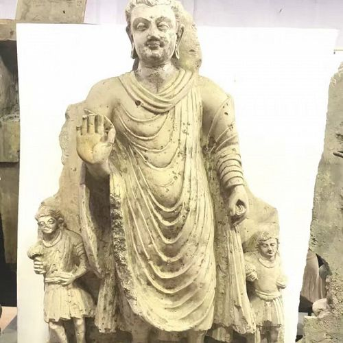 Gandhara STANDING BUDDHA