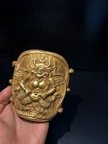 ancient gold garoda