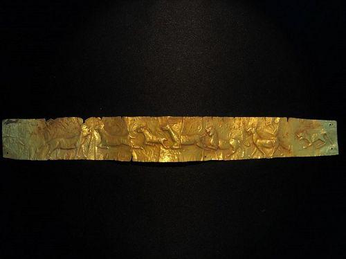 Gold Pediment diadem,4th century B.C.