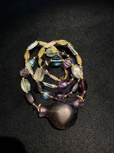 A rare high quality Unique Amethyst beads