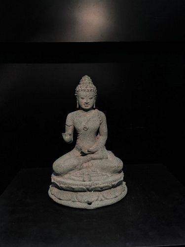 A beautiful Buddha Meditating pose originating from India