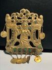 ancient Gold plaque with figure