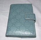 Authentic Gucci Blue Guccisima Leather Wallet Brand NEW