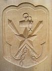 Kashigata, Wooden Sweet Mold, Japanese Army Emblem