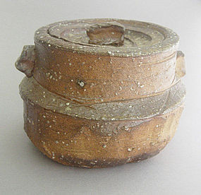 Mizusashi, Woodfired Water Jar, George Gledhill