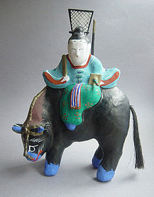 Miharu Hariko Papier-mache Doll, Sugawara no Michizane
