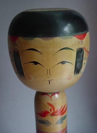Kokeshi, Yajiro-kei, Miyagi Pref., by Niiyama Keiimi
