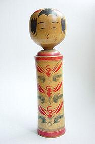 Kokeshi, Naruko-kei, Miyagi Pref., by Takahashi Takeo