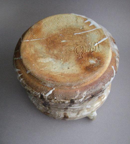 E-Shino Mizusashi, Water Jar, by George Gledhill