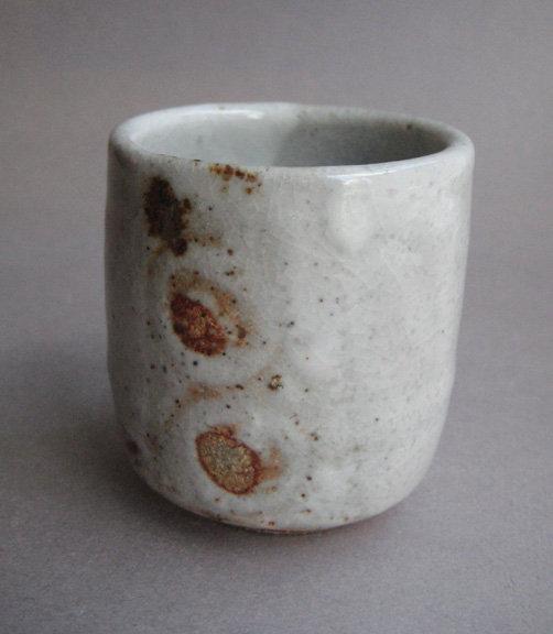 Tea Cup, Shino Glaze, George Gledhill; Payette, ID