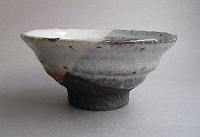Chawan, Tea Cup, Shino Glaze, George Gledhill