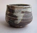 Tea Cup, Chawan, Shino Glaze, by George Gledhill