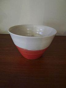 Soba Choko shaped Cup by Hanako Nakazato