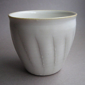 Yunomi, Tea Cup, by Hanako Nakazato