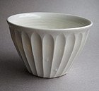 Shinogi, Faceted, Dessert Bowls by Hanako Nakazato