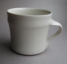 Porcelain Mug, Hanako Nakazato; Union, Maine