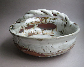Basket Vase / Serving Dish, by Sachiko Furuya