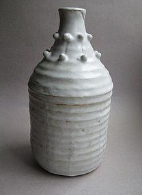 Shino Glaze Vase, Sachiko Furuya