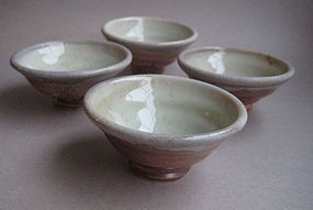 Guinomi, Sake Cup, John Benn (set of 4)