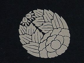 Furoshiki, Wrapping Cloth, Aizome, Meiji Era