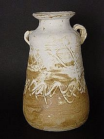 "Ceramic Flower Vase , ""Kabin"", Sachiko Furuya"