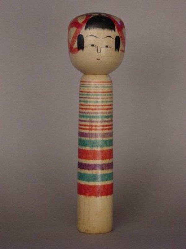 Kokeshi, Japanese Folk Toy, Fukushima Prefecture