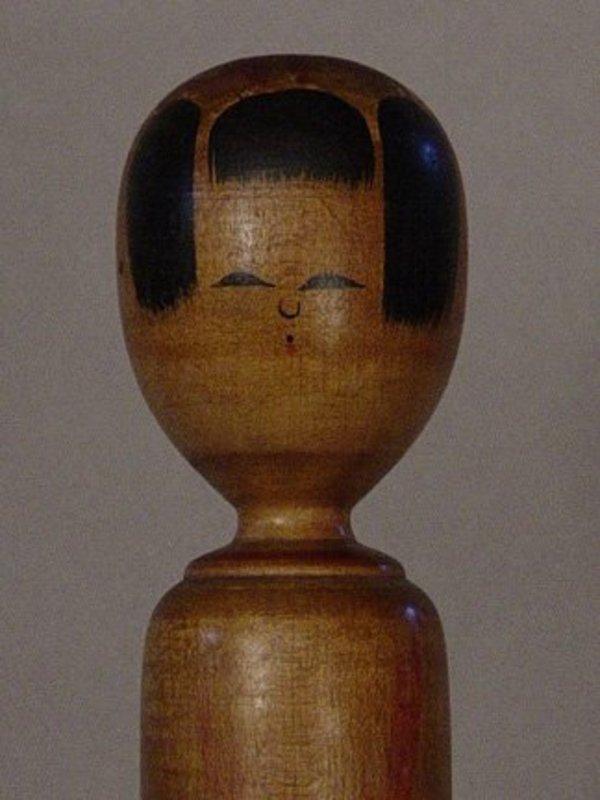 Kokeshi, Japanese Folk Toy, Akita; Kijiyama-kei