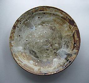 Large Dish / Rimmed Plate (oozara,) Sachiko Furuya