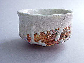 Tea Bowl, Chawan, WoodFired, Shino, George Gledhill