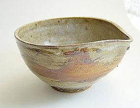 Katakuchi, Spouted Bowl, Ceramic, Sachiko Furuya