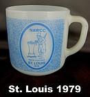 Nawcc Coffee Mug St. Louis 1979 Souvenir Mint Condition