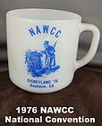Nawcc Coffee Mug Anaheim, Ca. Souvenir Mint Condition