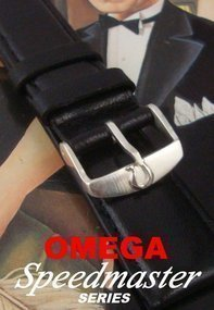 OMEGA Speedmaster Series Bombay Logo Buckle 20mm Strap