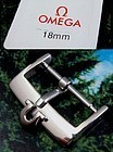 OMEGA 18mm Logo Buckle Marked: STAINLESS STEEL Current 2011