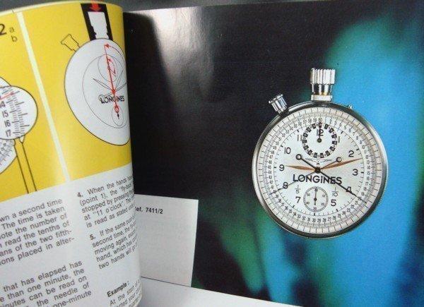LONGINES Chronograph Series Identification & Instruction Brochure Book