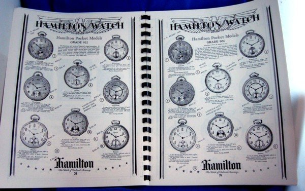 HAMILTON Identification and PRICE GUIDE 64 Pages Reprint Book