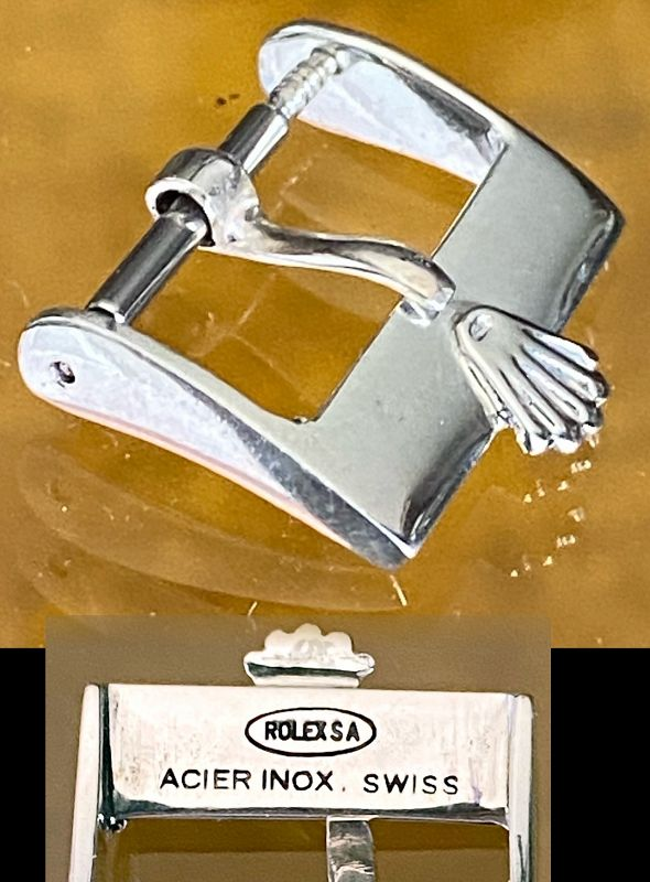 Vintage ROLEX 14mm Steel ROLEXSA ACIER INOX Swiss- OUT-OF-STOCK