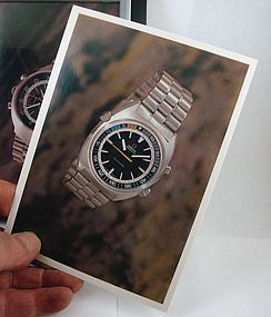 OMEGA Seamaster CHRONOSTOP Post Card 1969 OA
