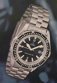 Omega Seamaster 300 Automatic Date Post Card 1976 OA