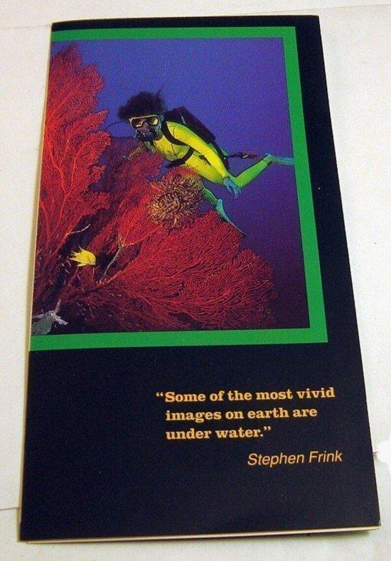 """ROLEX Submariner Series Brochure Stephen Frink 1972 6"""" C:1972"""