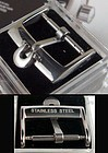 OMEGA 16mm Logo Buckle STAINLESS STEEL High Grade Factory Packaged