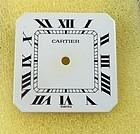 Cartier CEINTURE AUTOMATIQUE Rectangular Factory Dial